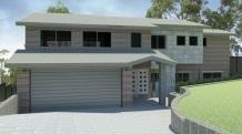 Split level sloping blocks for Split level homes downward sloping block